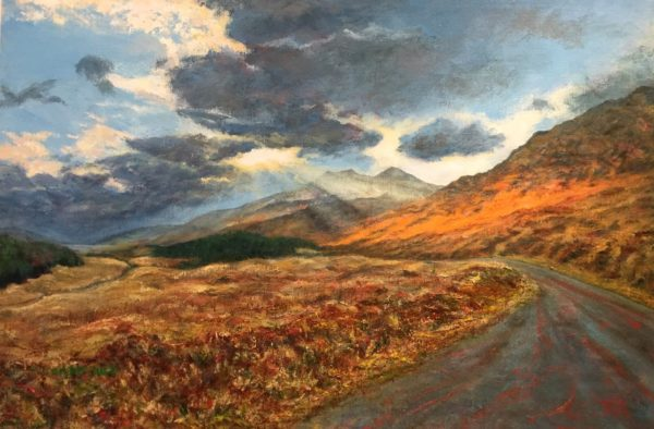Ben More from Glen More, Isle of Mull by Susan McClure