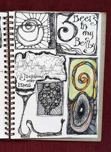Sketchbook Page 02 by Laura Hughes