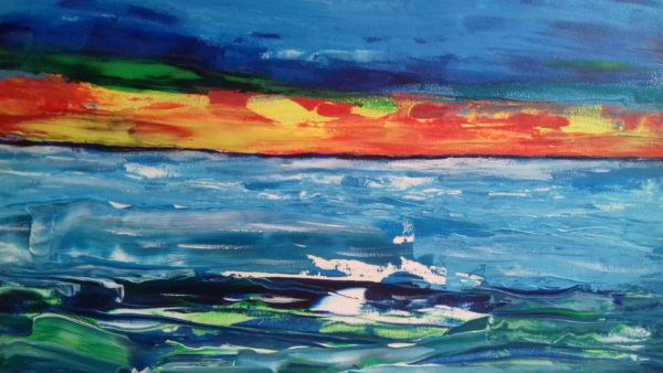 Sunset 5 by Evesy