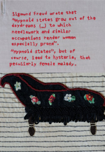 Freudian Slip Stitch by Kate Rolison