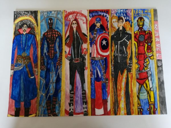 Marvel Heroes by Rakibul Chowdhury