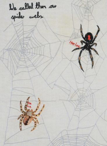 Spider Webs by Kate Rolison
