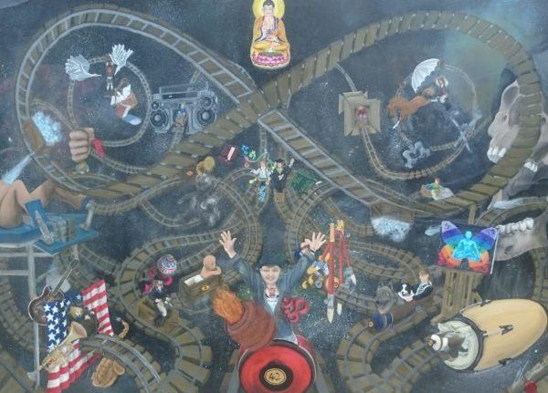Riding The Mind Train by Pamela Boardman