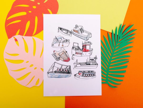 Boats by Livvy Rose Studio
