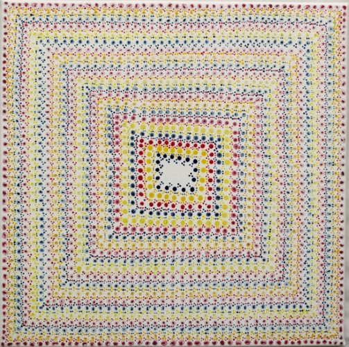 Square Dots #1 by Julia Fry