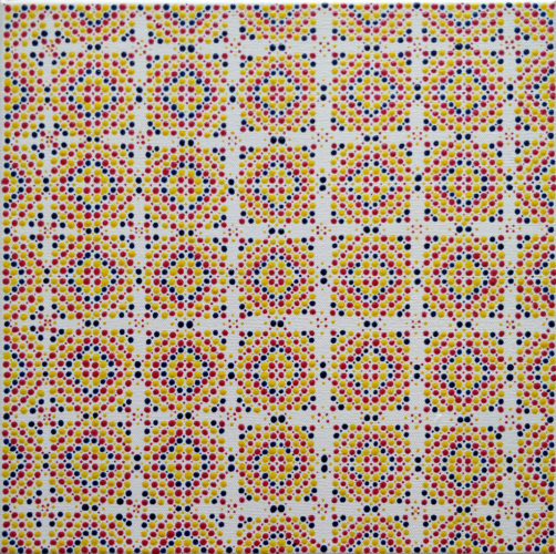 Square Dots #4 by Julia Fry