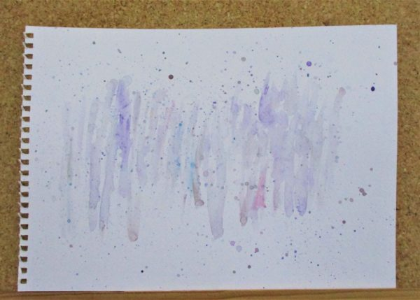 Wash of colour by My art unfolding
