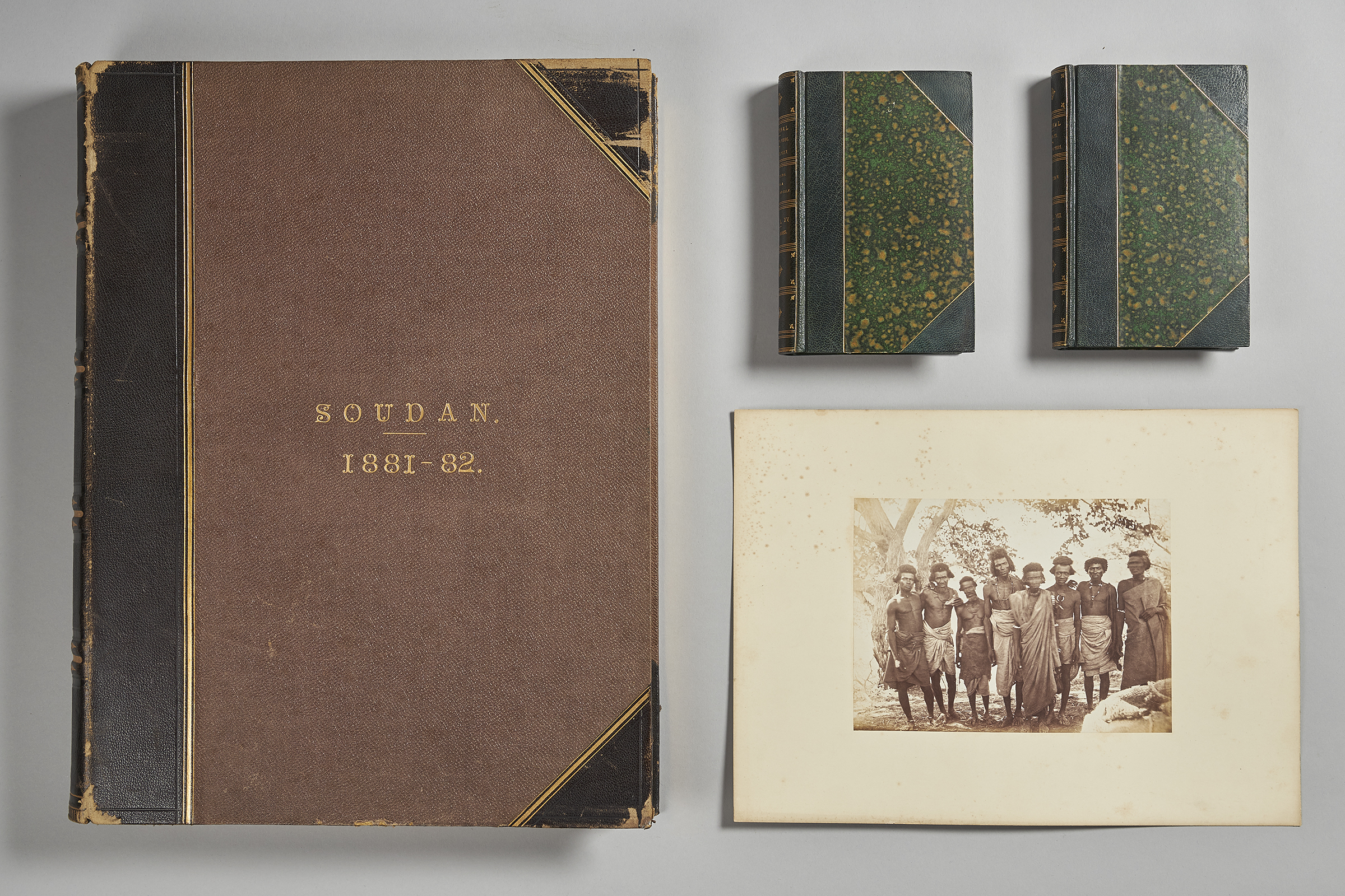 Frank and William James expedition material from the West Dean College archive