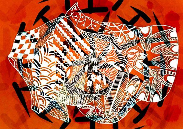 Tribal Offering – Orange