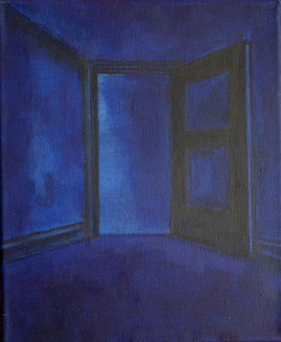 'an open door'