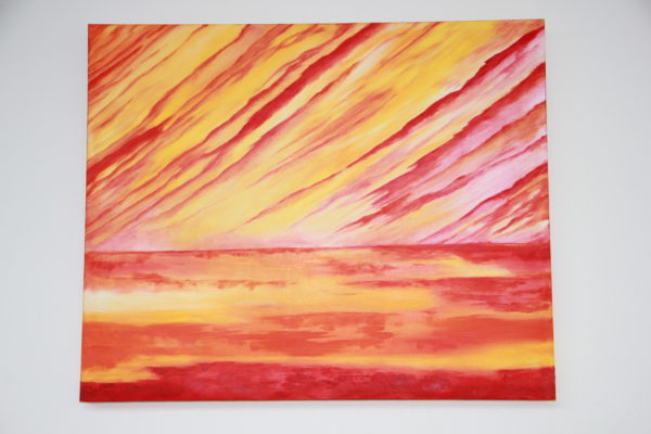 'sunset in fire'