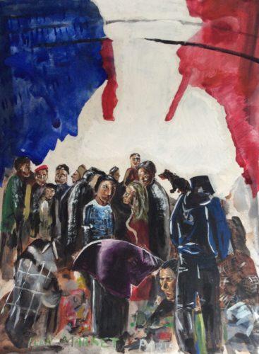 'Flea Market' Paris by Jules