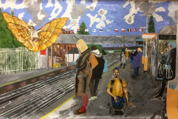 ' Incident at Anerley Station' by Jules
