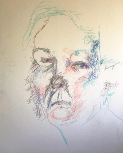 Self Portrait by Eileen Higgins