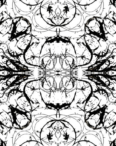 Alopecia Rorschach Series (2020) by Aminder Virdee