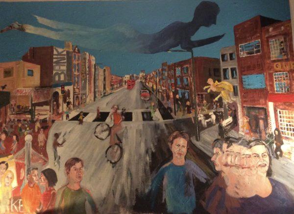 Penge high street by Jules