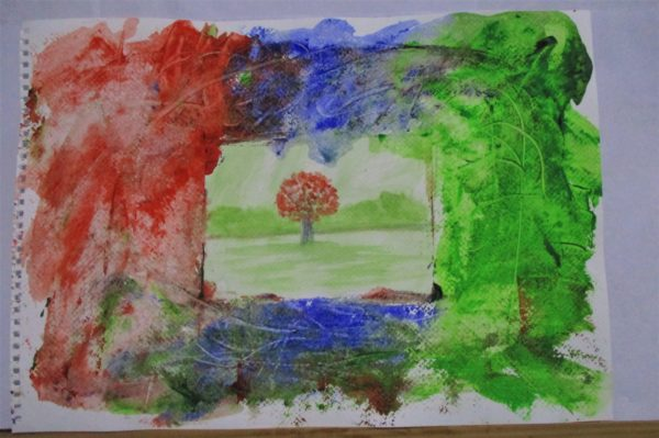 Tree in picture by My art unfolding