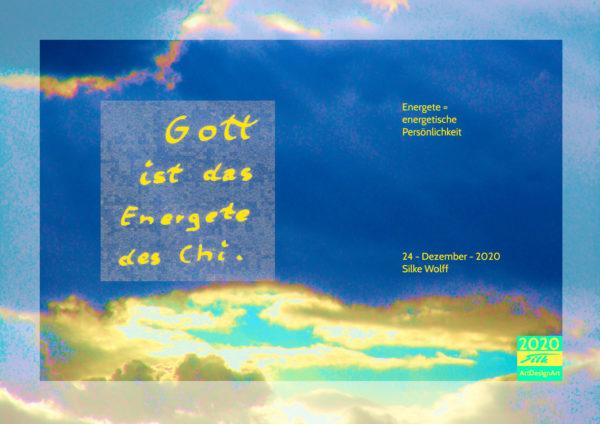 GOD is by Silke Wolff