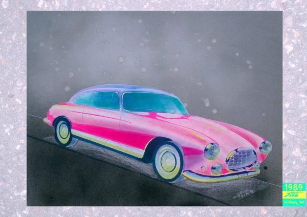 pink Caddylack by Silke Wolff