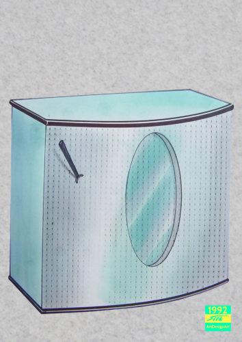 fridge by Silke Wolff