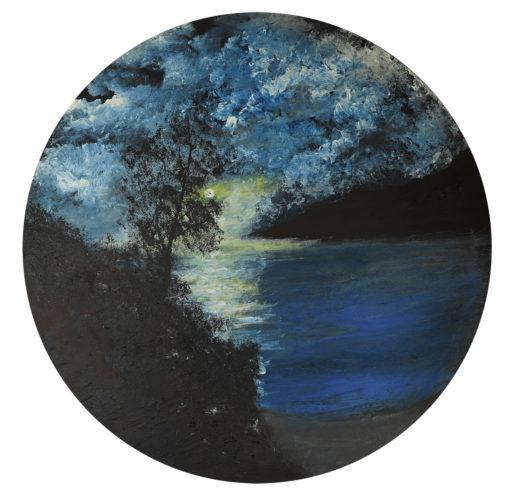 Bay of Moonlight by Mark Noble Art