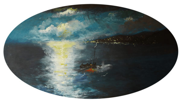 Night Fishing by Mark Noble Art