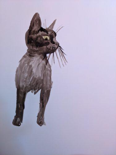 Big Kitten by Ana Tewson-Bozic