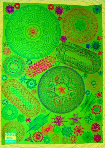 spirograph by Silke Wolff