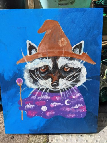 Raccoon by Ana Tewson-Bozic