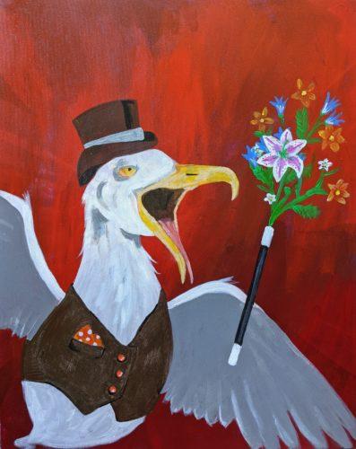 Magic seagull by Ana Tewson-Bozic