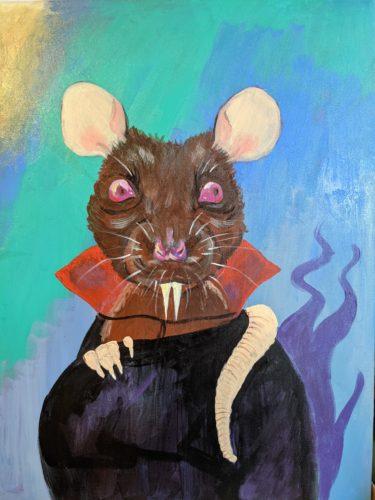 Vampire rat by Ana Tewson-Bozic