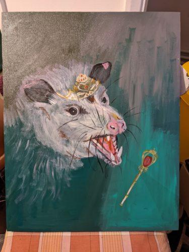 Opossum by Ana Tewson-Bozic