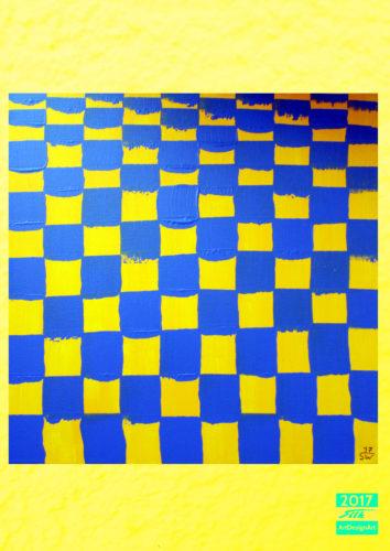 chessboard by Silke Wolff