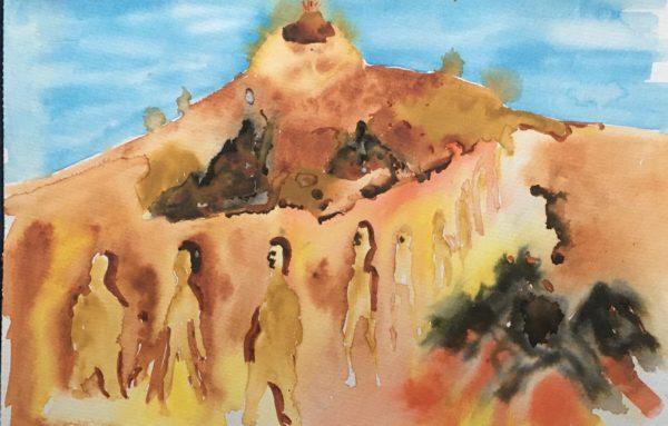 Walking in Lanzeroti by Jules