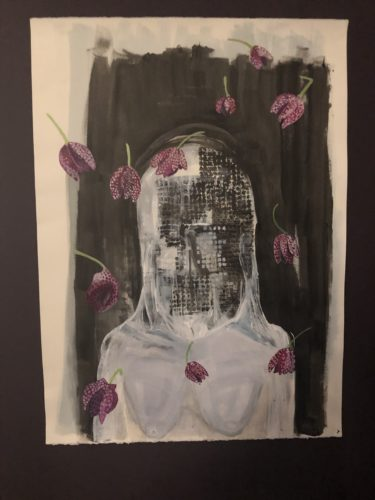 Silence Mask with Fratilari – Meaning Persecution and Sorrow by Joanne pudney