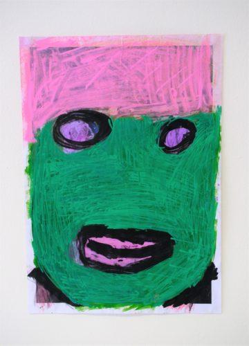 Self Portrait: The Mask by Chloe Macfarlane